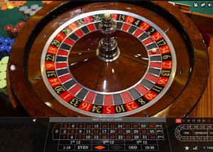Live Roulette game online